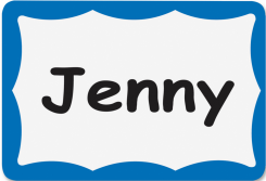 - Name Badge Labels