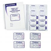 - VISITOR LOG BOOK/BADGES