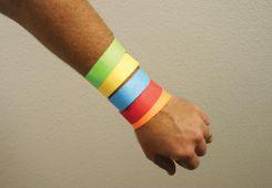 - Tyvek® Security Wristbands