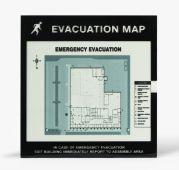 - Emergency Evacuation Signs Map Holders: In Case Of Emergency