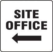 - Contractor Preferred Corrugated Plastic Sign: Site Office