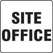 - Contractor Preferred Corrugated Plastic Signs: Site Office