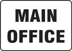- Contractor Preferred Corrugated Plastic Signs: Main Office