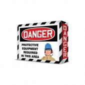 - VISUAL EDGE™ SAFETY SIGN - PPE