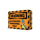 - VISUAL EDGE™ SAFETY SIGN - AUTHORIZED PERSONNEL
