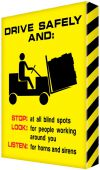 - Visual Edge Graphic Sign: Drive Safely