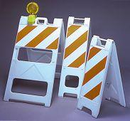 - Plastic Barricades