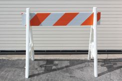 - Barriers & Barricades: A-Frame Plastic Barricades