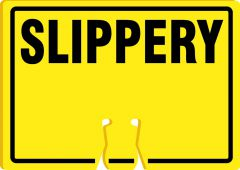 - Cone Top Warning Sign: Slippery