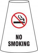 - Cone Cuff Sleeve: No Smoking