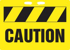 - Rope Signs: Caution