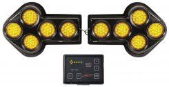 - Traffic Control:Two-Piece Directional Arrow Boards