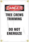 - OSHA Danger Utility Pole Wrap: Tree Crews Trimming - Do Not Energize