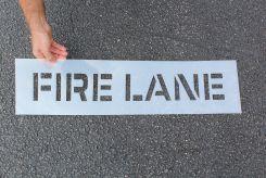 - Message Stencil: Fire Lane