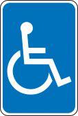 - Federal Parking Sign: Handicapped (Symbol)