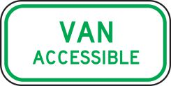 - ADA Parking Sign - Supplemental