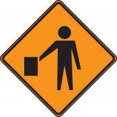 - CANADIAN CONSTRUCTION SIGN - FLAGGER