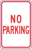 - Traffic Sign: No Parking