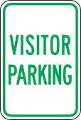 - Traffic Sign: Visitor Parking