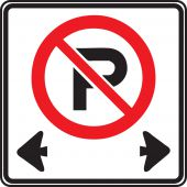 - TRAFFIC SIGN - NO PARKING