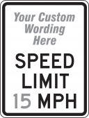 - Facility Traffic Sign