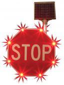 - Safety Sign: Blinker Stop Sign