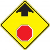 - Stop And Yield Sign: Stop Ahead