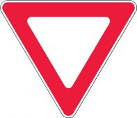 - Safety Sign: Yield