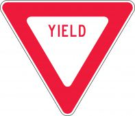 - Traffic Signs: Yield