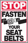 - Rail & Markers: Stop Fasten Your Seat Belts