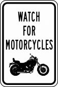 - Traffic Sign: Watch For Motorcycles