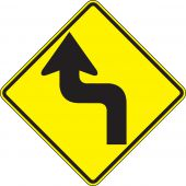 - Direction Sign: Left Reverse Turn