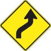 - Direction Sign: Right Reverse Curve