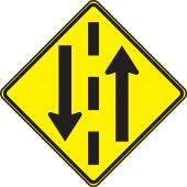 - TRAFFIC SIGN - TWO WAY TRAFFIC