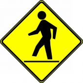 - Bicycle & Pedestrian Sign: Pedestrian