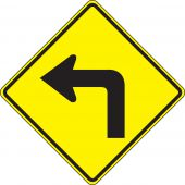 - Direction Sign: Left Turn