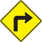 - Direction Sign: Right Turn