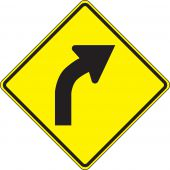- Direction Sign: Right Curve