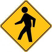 - Crossing Sign: Pedestrian