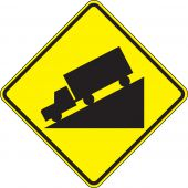 - Surface & Driving Conditions Sign: Hill (Symbol)