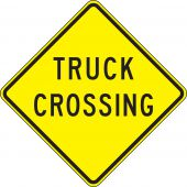 - Crossing Sign: Truck Crossing