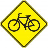 - Crossing Sign: Bicycle