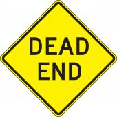- Lane Guidance Sign: Dead End