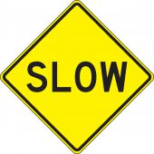- Surface & Driving Conditions Sign: Slow
