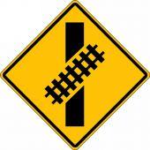 - Rail Sign: Skewed Crossing
