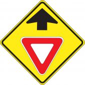 - Stop And Yield Sign: Yield Ahead