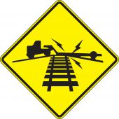 - Rail Sign: Low Ground Clearance Grade Crossing