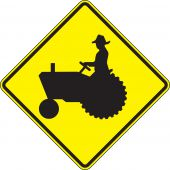 - Crossing Sign: Farm Vehicles