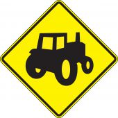 - Crossing Sign: Farm Vehicles (Alternate)