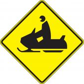 - Crossing Sign: Snowmobile